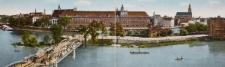 Panorama Wrocławia z Uniwersytetem