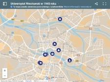 Uniwersytet Wrocławski w 1945 roku - wirtualny spacer