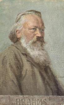 Portret Johannesa Brahmsa