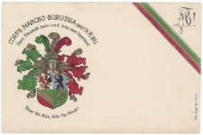 Karta korporacyjna – Corps Marcho-Borussia