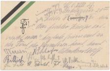 Kartka z kartuszem korporacji