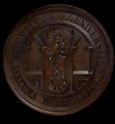 Medalion Universitas Literarum Vratislaviensis - element uniwersyteckiej tablicy ogłoszeń