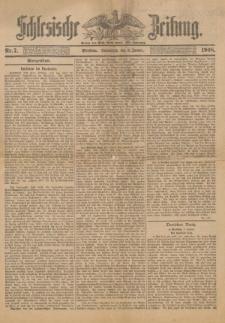 """Schlesische Zeitung"" nr 7 z dnia 4 stycznia 1908 roku"