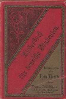 """Śpiewnik studentów niemieckich pt. """"Liederbuch für deutsche Studenten"""""""