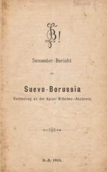 Biuletyny korporacji Suevo-Borussia w Berlinie