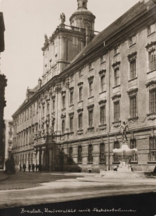 Uniwersytet Wrocławski – widok od południowego-wschodu