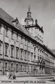Uniwersytet Wrocławski – widok od południowego-zachodu