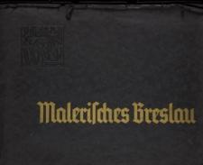 """Teczka grafik """"Malerisches Breslau"""""""