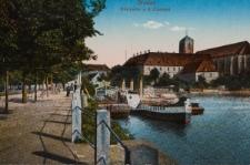 Wyspa Piaskowa we Wrocławiu – widok od wschodu