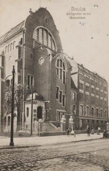 Instytut Zoologiczny Uniwersytetu Wrocławskiego – widok od północnego-wschodu