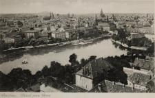 Nowe Miasto we Wrocławiu i Wyspa Piaskowa – widok z wieży katedry wrocławskiej