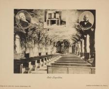 Aula Leopoldina – widok w kierunku zachodnim