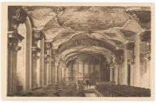 Sala Muzyczna Uniwersytetu Wrocławskiego (Oratorium Marianum) – widok w kierunku podium