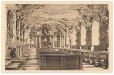 Aula Leopoldina – widok w kierunku podium