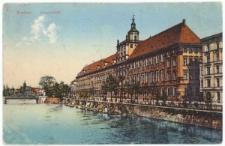 Uniwersytet Wrocławski – widok od strony Mostu Pomorskiego
