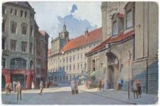 Uniwersytet Wrocławski – widok od strony południowej w kierunku zachodnim