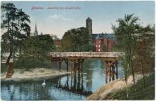 Ostrów Tumski we Wrocławiu – widok z Zatoki Gondol