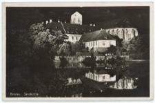 Wyspa Piaskowa we Wrocławiu – widok nocny