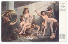 Dzieje Cywilizacji Ludzkości – obraz nr 4: Geniusz ludzki pada ofiarą złych skłonności