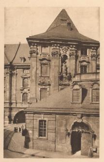 Uniwersytet Wrocławski – widok na stronę południową i budynek bramny