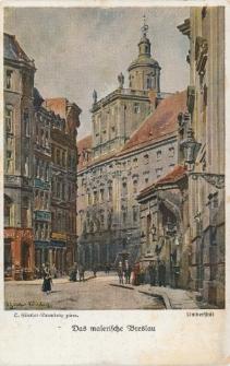 Uniwersytet Wrocławski – widok strony południowej w kierunku zachodnim