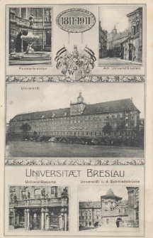 Uniwersytet we Wrocławiu – jubileusz 100-lecia