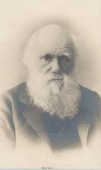 Portret Karola Darwina