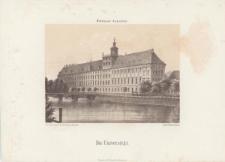Uniwersytet Wrocławski – widok od strony Odry