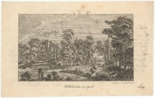 Pałac i park Wilhelmshöhe w Kassel (kartka ze studenckiego sztambucha)