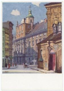 Uniwersytet Wrocławski – widok od strony wejścia przy kościele uniwersyteckim