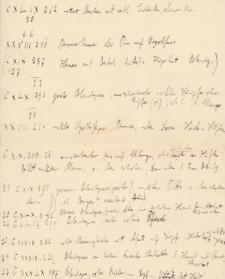 Wypis z inwentarza muzealnego obejmujący zabytki archeologiczne