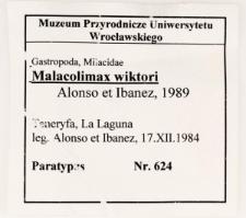 Malacolimax wiktori Alonso, Ibanez, 1989