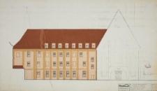 Wydział Filologiczny UWr (d. klasztor premonstratensów) – kolorystyka elewacji (rysunek 7)