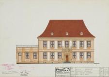 Wydział Filologiczny UWr (d. klasztor premonstratensów) – kolorystyka elewacji (rysunek 9)