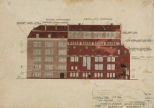Muzeum Przyrodnicze UWr – kolorystyka elewacji (rys. 2)