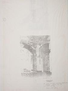Projekt rysunkowy do rekonstrukcji plafonu Oratorium Marianum w gmachu głównym UWr