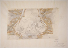 Projekt rysunkowy do rekonstrukcji plafonu Oratorium Marianum w gmachu głównym UWr (rysunek 7)