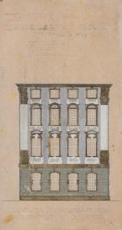 Gmach główny UWr – skrzydło zachodnie (kolorystyka elewacji)