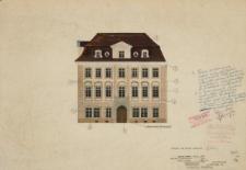 Instytut Archeologii UWr – kolorystyka elewacji