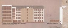 Wydział Prawa i Administracji UWr – kolorystyka elewacji południowej i wschodniej
