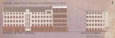Wydział Prawa i Administracji UWr – kolorystyka elewacji północnej i zachodniej