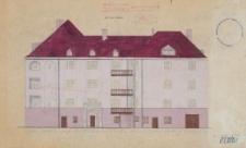Instytut Nauk Politycznych Uniwersytetu Wrocławskiego – kolorystyka elewacji