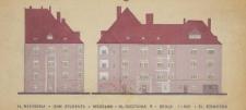 """Dom Studencki Uniwersytetu Wrocławskiego """"ITD"""" – kolorystyka elewacji"""