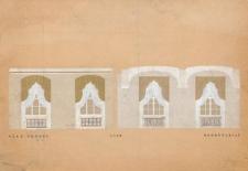 Sala Senatu i sekretariat w gmachu głównym Uniwersytetu Wrocławskiego – kolorystyka wnętrz i wystrój okien