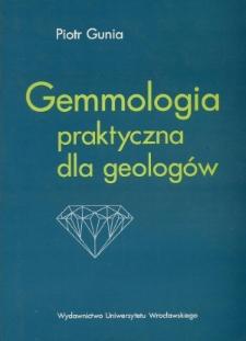 Gemmologia praktyczna dla geologów
