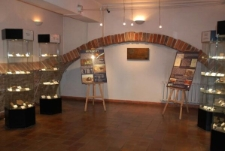 Meteoryty - sala wystawowa