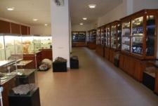Muzeum Mineralogiczne - sala wystawowa
